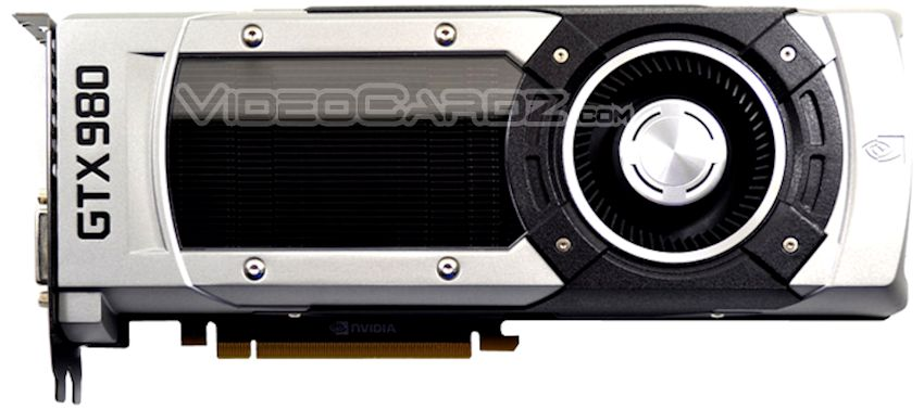 NVIDIA GeForce GTX 980 con design reference