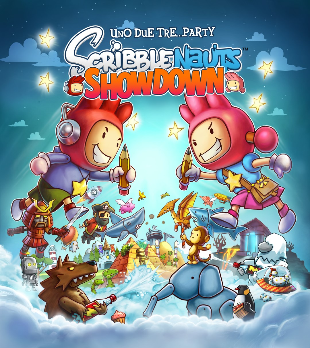 Warner Bros annuncia Scribblenauts Showdown